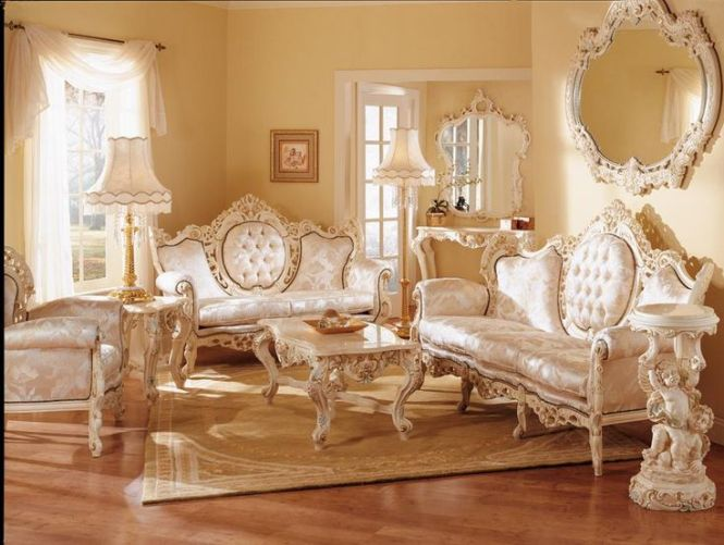 Geny French Provincial Living Room Set