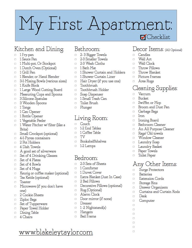 17 Best ideas about Moving Out Checklist on Pinterest