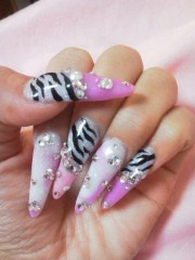 1000 ideas scary nails