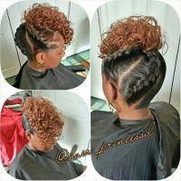 082014 3D under braid pinup | Hair styles | Pinterest ...