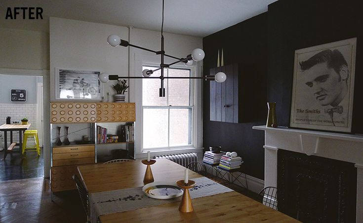 designs of small modular kitchen moen faucet repair anna dorfman's dining room | west elm mobile chandelier ...