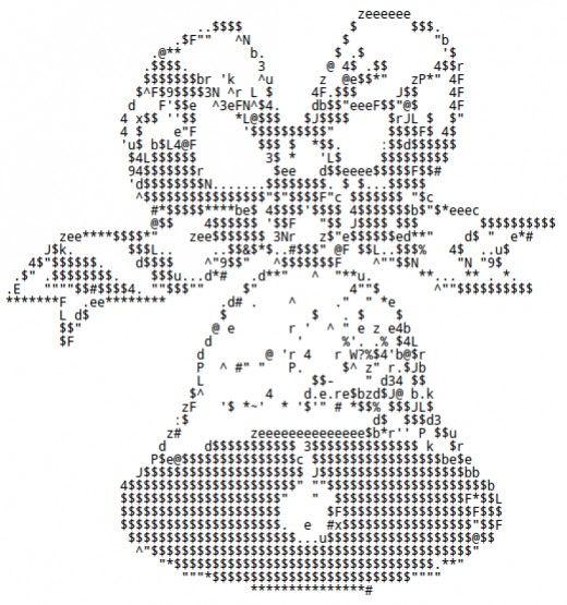 16 best ASCII Art images on Pinterest