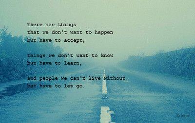 Letting go is still hard