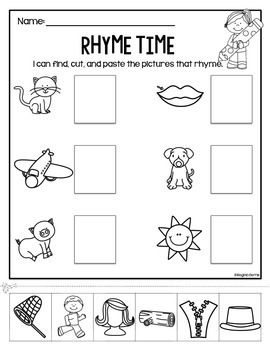 1000+ images about RHYMING IN FIRST GRADE on Pinterest