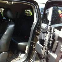 Gun rack for the truck | Bugout vehicle | Pinterest ...