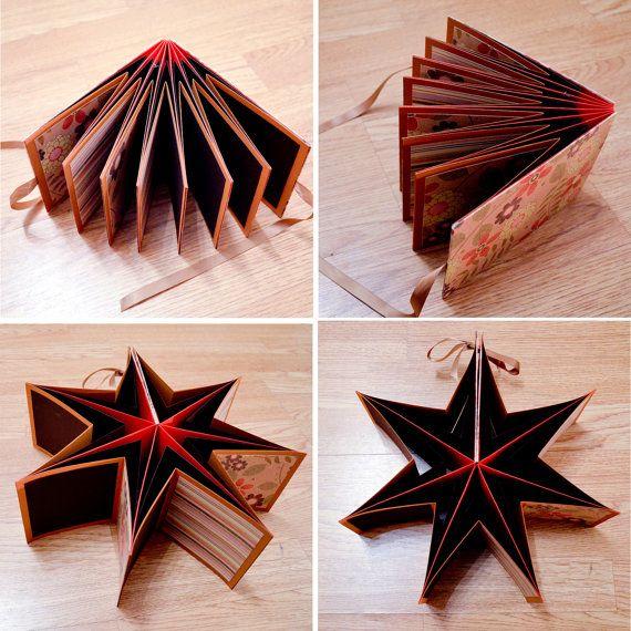 Star Book Mini Scrapbook Album Unique Amp By