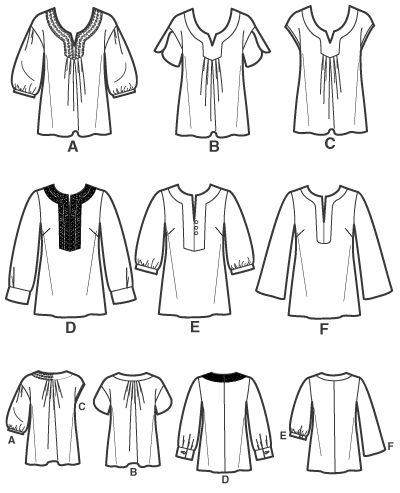 1000+ ideas about Tunic Sewing Patterns on Pinterest