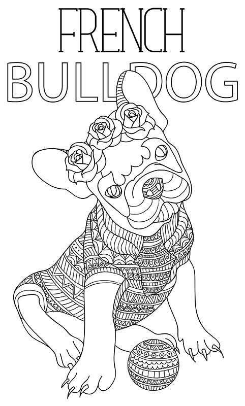 431 best images about Cats + Dogs Coloring Pages for