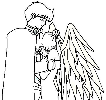 Kissing Couple Coloring Pages