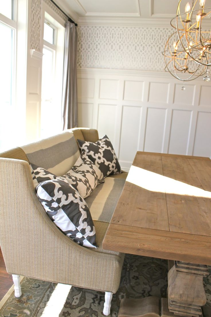 17 Best Ideas About Settee Dining On Pinterest Dinning Table Shabby Chic Dining Room And