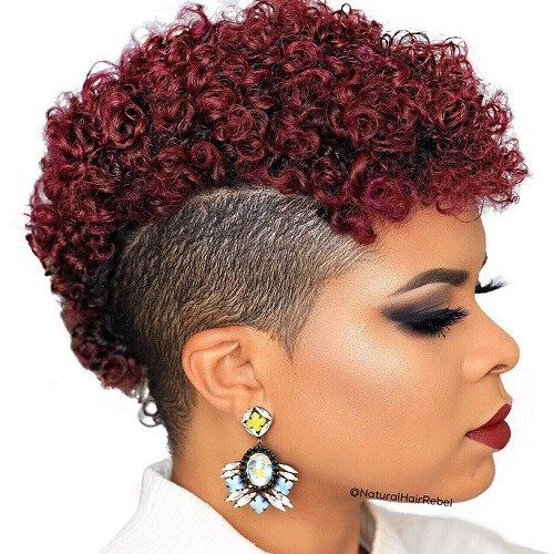 50 Ultra Cool Shaved Hairstyles For Black Women Hair Motive Hair