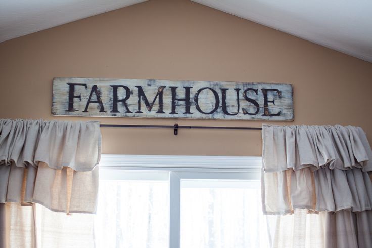 DIY Farmhouse Sign Check Out The Blog To See How To Make