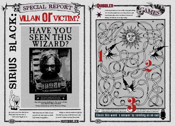 picture regarding Printable Quibbler titled Internet pages Quibbler Harry Potter Printable