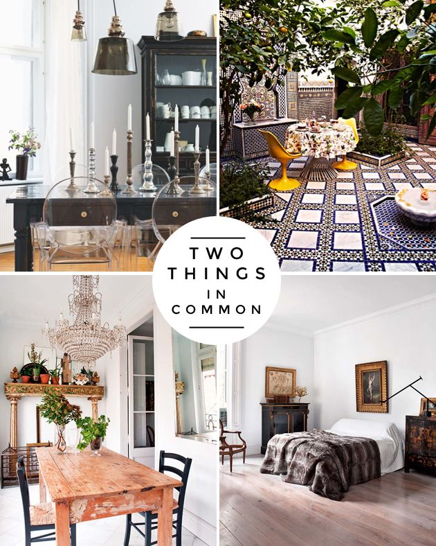 How to Mix Furniture Styles Effectively  Circles The o