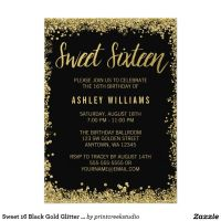 17 Best ideas about Sweet 16 Invitations on Pinterest ...