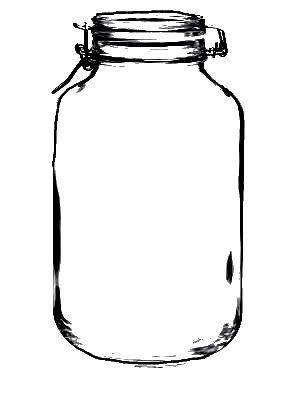 Bingo, Jars and Masons on Pinterest