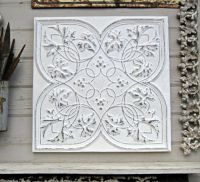 75 best images about Antique Tin Ceiling Tiles in Whites ...