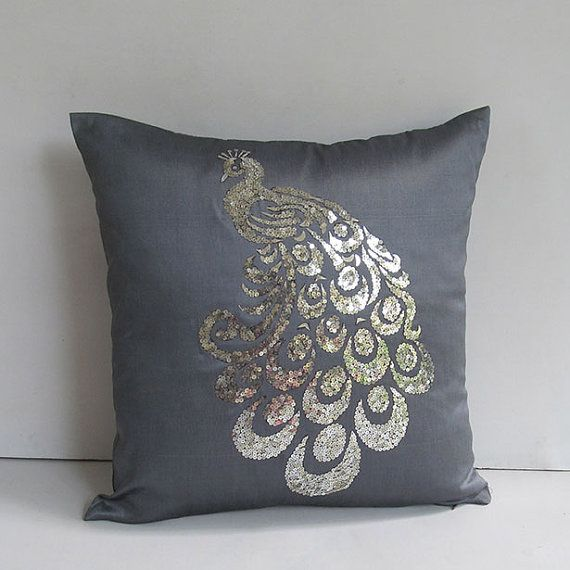 searching for grey pillow decor for master White