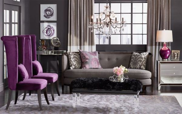 purple and silver living room ideas 17 Best ideas about Silver Living Room on Pinterest | Daybeds, Lounge chairs and Modern interior