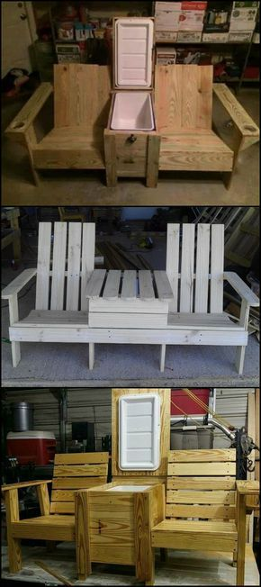 Jack And Jill Bench Chair