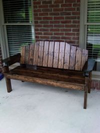 Front porch bench | Porch Benches | Pinterest | My mom ...