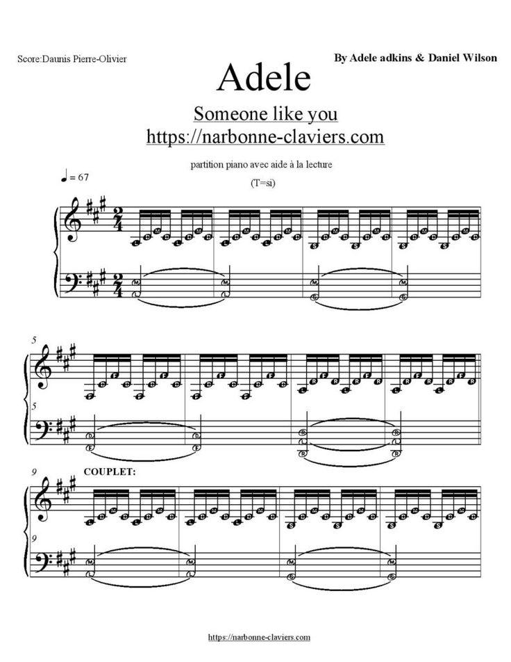 Musique Qui Fait Peur : musique, Partition, Piano, Musique