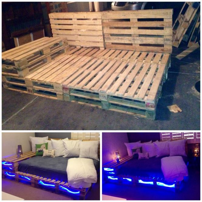 New Addition To My Home Pallet Full Size Bed