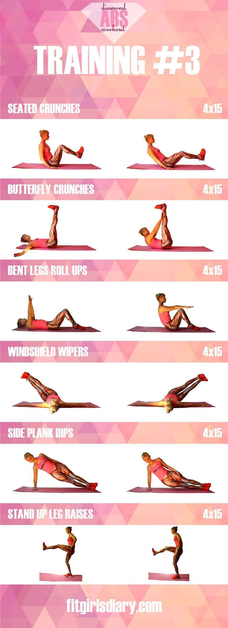 diamond abs workout collection of the best ab exercises for women