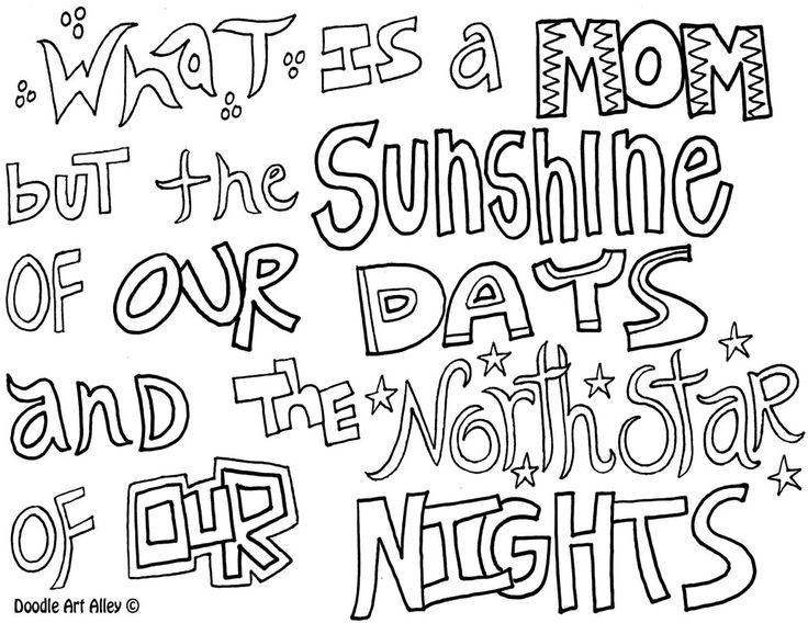 17 Best images about Mother's Day Coloring Pages and