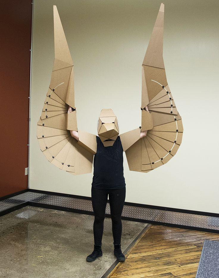 25+ best Cardboard Mask trending ideas on Pinterest