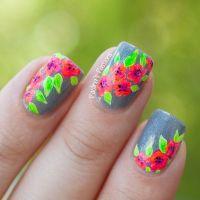 Best 25+ Tropical flower nails ideas on Pinterest