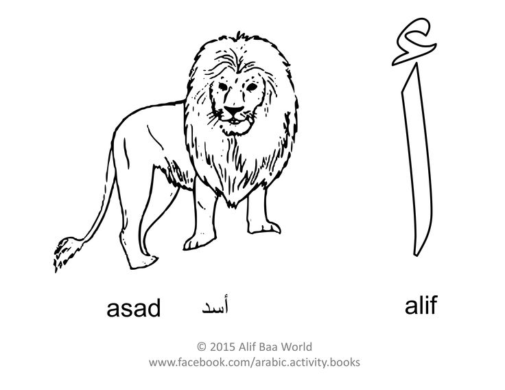 Here is the first letter of the Arabic alphabet: أ (alif