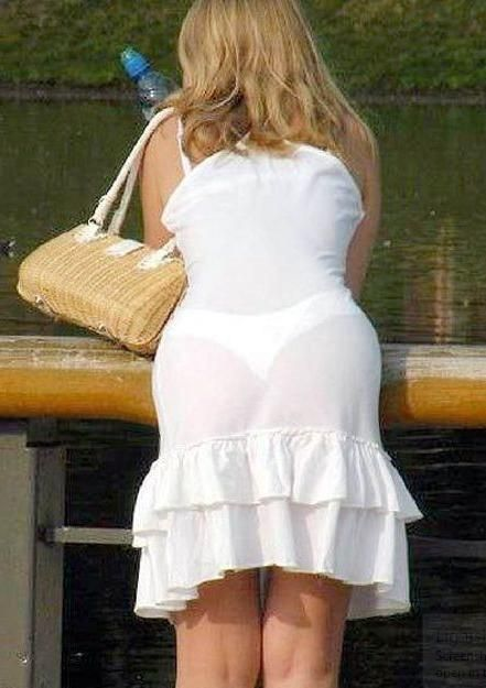 See Through Clothes Make For Some Fantastic Views Humor