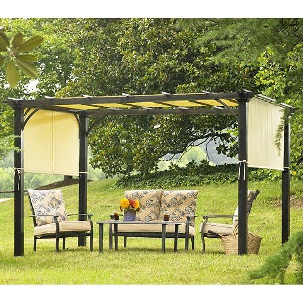 Sears Garden Oasis Deluxe Pergola 2010 Replacement Canopy Canopy Pinterest Gardens Garden