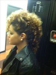 curly mohawk gurl