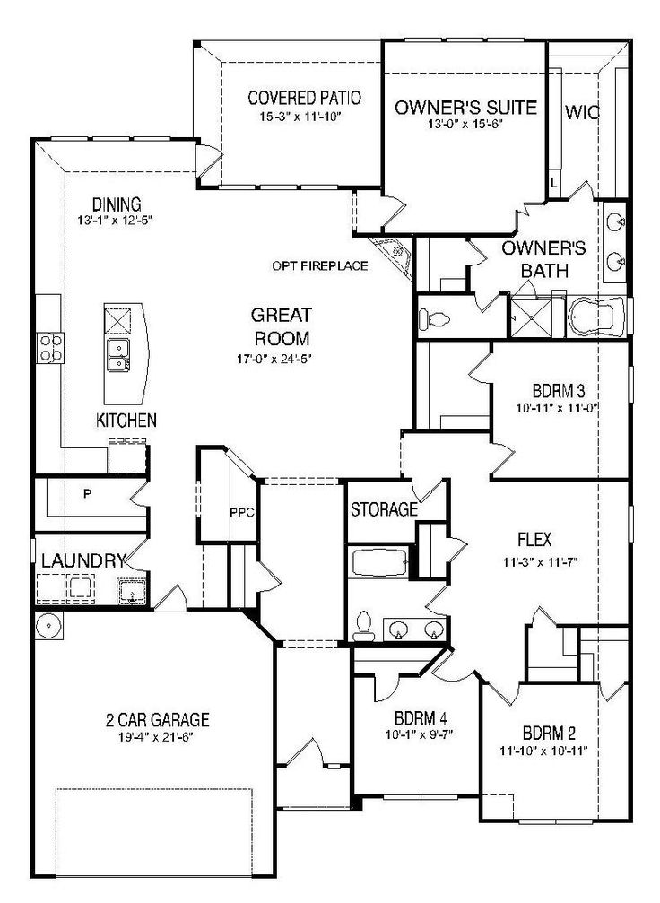 Floor Plan  Cranbrook  New Home in West Fork Ranch