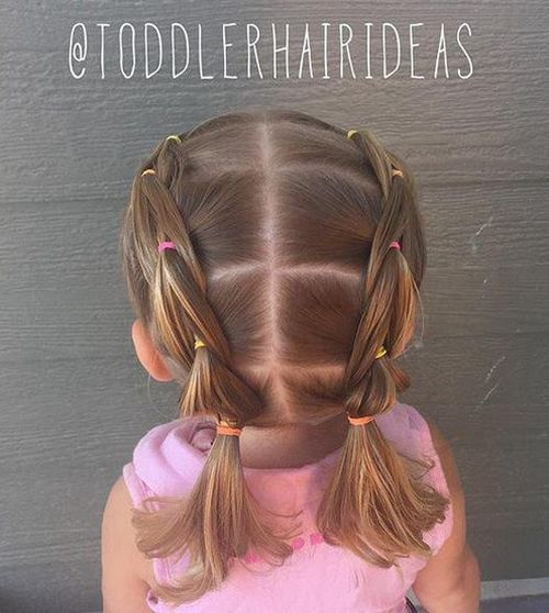 25 Best Ideas About Toddler Girls Hairstyles On Pinterest