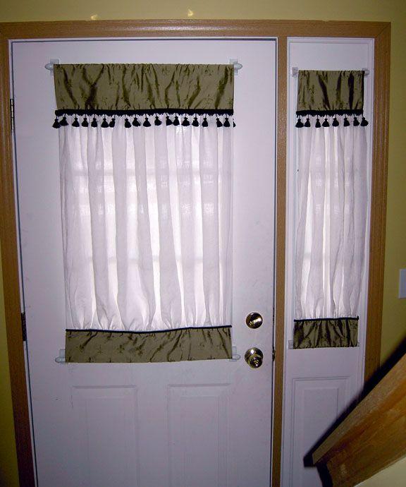 25 Best Ideas About Door Window Curtains On Pinterest Burlap