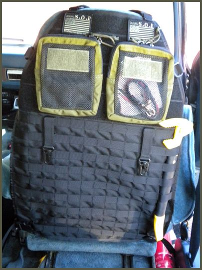 wiring diagram for off road lights jeep electrical circuit worksheet molle car seat organizers | shtf / bug out pinterest cars, originals and fans