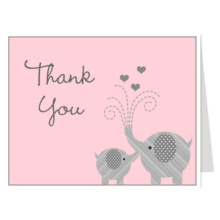 1000 Ideas About Baby Thank You Cards On Pinterest