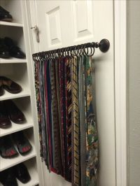 17 Best ideas about Tie Rack on Pinterest