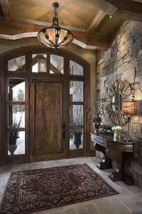 Best 25+ Indoor stone wall ideas on Pinterest