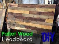 1000+ ideas about Pallet Headboards on Pinterest ...