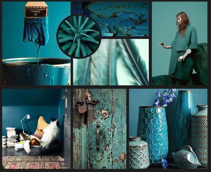 wonen blauw groen tinten  Google Search  For the Home