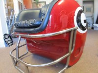 Fiberglass Georgia Bulldog Helmet Chair | eBay | Shit I ...
