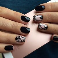 Best 20+ Pink Black Nails ideas on Pinterest | Pretty nail ...