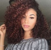 ideas mixed curly