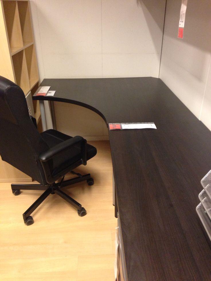 IKEA linnmonadis desk  linnmonAlex extension