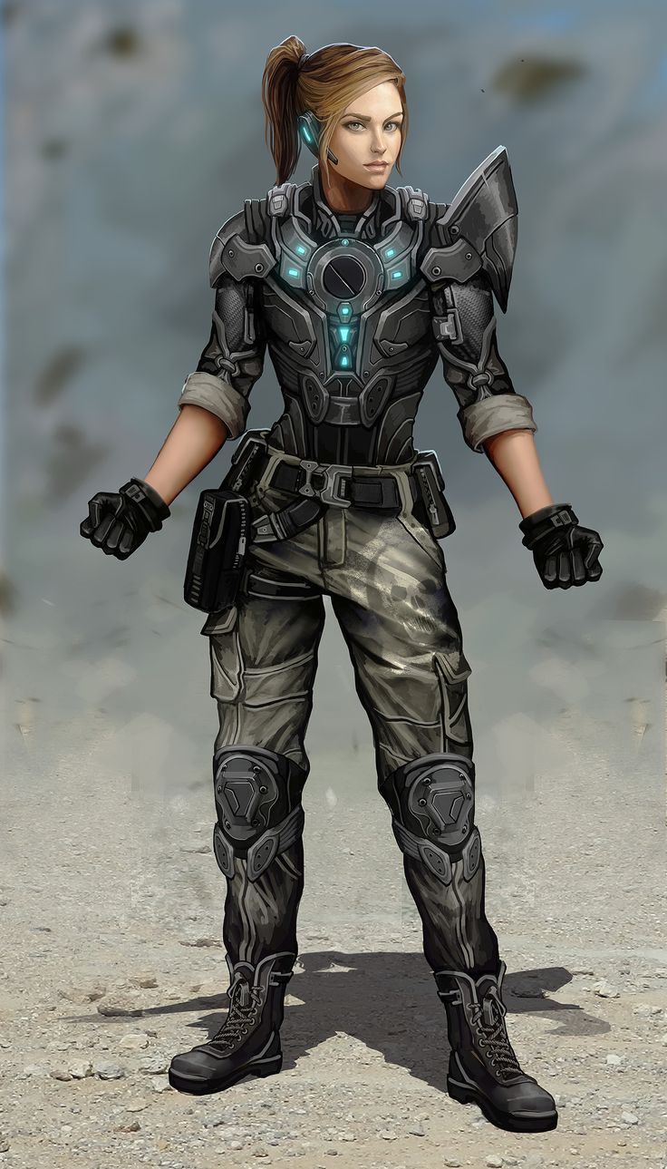 Sci Fi Characters Military Army