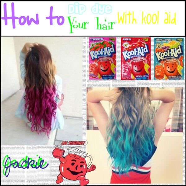 How To Dye Your Hair With Kool Aid Beauty Trusper Tip